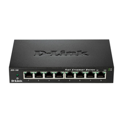 D-Link DES-108 8-Port 100MBit/s Switch