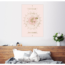 Posterlounge Wandbild, Hogwarts - Ravenclaw 20 cm x 30 cm