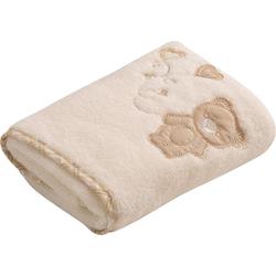 Vossen Handtuch Teddy (2-St), mit niedlicher Stickerei natur