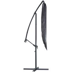 KONIFERA Sonnenschirm-Schutzhülle, für Sonnenschirm, (L/B) 190x32 cm grau Sonnenschirme -segel Gartenmöbel Gartendeko Sonnenschirm-Schutzhülle