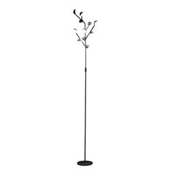 Mantra Stehlampe LED-Stehlampe Adn schwarz