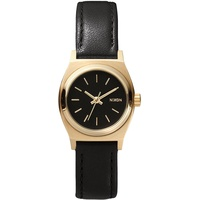Nixon The Small Time Teller Leather Black / Gold A509010