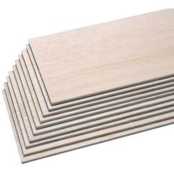Pichler C6445 Balsa-Brettchen (L x B x H) 1000 x 100 x 5mm 10St.