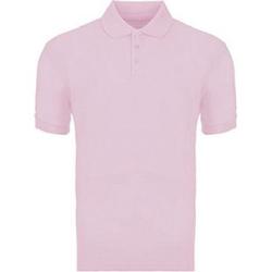 Herren-Poloshirt Rosa XXL