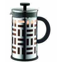 Bodum EILEEN Kaffeebereiter (French Press System, Permanent Filter aus Edelstahl,