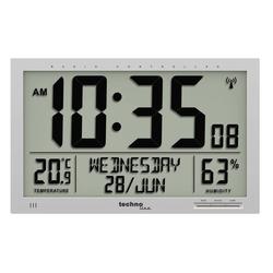 Wanduhr WS 8013 mit Jumbo LCD-Anzeige