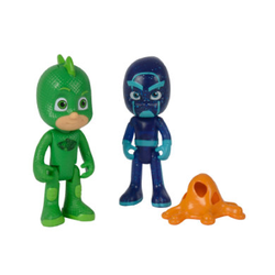 Simba PJ Masks Figurenset - Gecko und Ninja