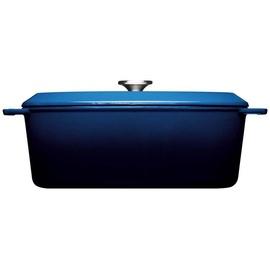 WOLL Iron Bräter 34 x 26 cm blau