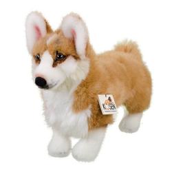 Kösen Kuscheltier Hund Welsh Corgi 34 cm Hunde der Queen (Stoffhund Plüschhund Plüschtiere Hunde Sofftiere, Hundewelpe, Babyhund für Kinder, Plüschcorgi, Stoffcorgi)