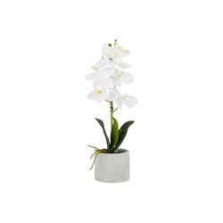 Kunstblume Kunstblume Orchidee im Topf, HTI-Living