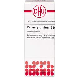FERRUM PICRINICUM C 30 Globuli 10 g