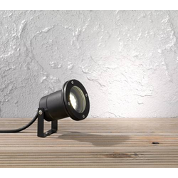 WOFI 8055.01.10.7000 Garpa Gartenstrahler LED GU10 35W Schwarz