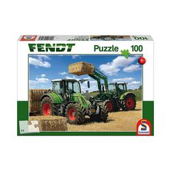 Schmidt Spiele Puzzle Puzzle 100 Teile Fendt 724 Vario, Fendt 716 Vario, Puzzleteile