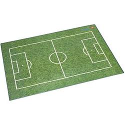 Läufer Schreibtischunterlage Fußballfeld