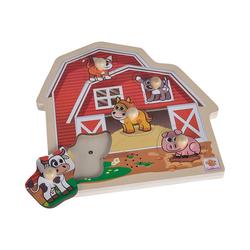 Eichhorn Steckpuzzle Puzzle mit Sound, Puzzleteile