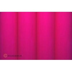 Oracover 21-025-010 Bügelfolie (L x B) 10m x 60cm Pink (fluoreszierend)