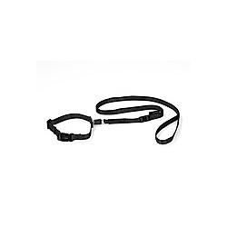 GoLeyGo Hundeleine und Halsband L schwarz