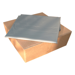 LDPE-Seitenfalten-Müllsäcke 240 L, 650 + 550 x 1350 mm, Typ 100 = 85 my, 50 Stk.