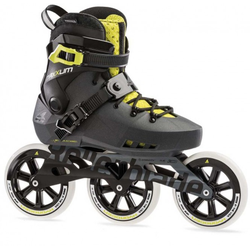 ROLLERBLADE MAXXUM EDGE 125 3WD TEST Inline Skate 2021 metallic grey/lime - 42