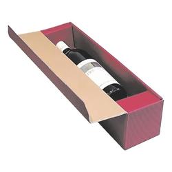 Geschenkkartons für Flaschen rot, OTTO Office, 9.6x38.5x9.2 cm