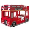 Vipack Etagenbett London Bus rot