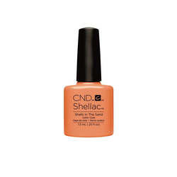 CND Nagellack Shellac Color Coat Shells in The Sand