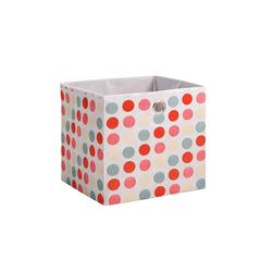 Aufbewahrungsbox in rosa, 32 x 32 cm