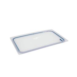 SCHNEIDER GN Deckel mit Silikondichtung, Robuster Deckel für GN-Behälter für den Gastrobedarf, Maße (L x B x H): 52,3 x 32,1 x 1,13 cm