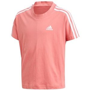 Adidas Mädchen T-Shirt G 3S Tee - hazy rose/white