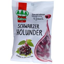 SCHWARZER HOLUNDER Bonbons 90 g