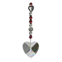 Adelia´s Amulett Feng Shui Sonnenfänger, Das Kristallherz - Liebe und Harmonie
