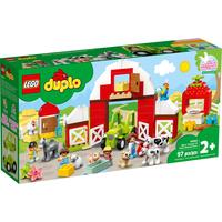Lego Duplo Scheune, Traktor und Tierpflege 10952