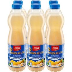 Fruchtstern Bananen-Nektar 1 Liter, 6er Pack