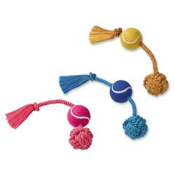 Nobby Spielseil mit Tennisball