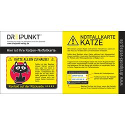 Notfallkarte 'Katze'