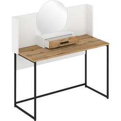 andas Schminktisch Calipso, mit Spiegel, Breite 123 cm weiß Schminktische Tische