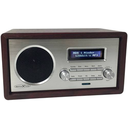 Reflexion HRA1260i Internet Tischradio Internet AUX, WLAN, Internetradio DLNA-fähig Holz