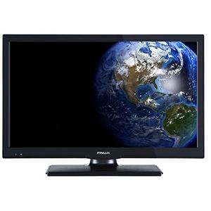 """Finlux FLD2422 - 61 cm (24 Zoll) 24"""" LED-Fernseher mit dvd spieler / LED TV / flachbildschirm fernseher mit integrierten DVD-Player   HD-Ready   intergriertem DVD player mit DVD/DVB-T-Tuner   Energieklasse A plus   Schwarz"""