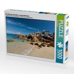 Ein Bild des Kalenders Landschaft Breton Lege-Größe 64 x 48 cm Foto-Puzzle Bild von Klaus Hoffmann Puzzle