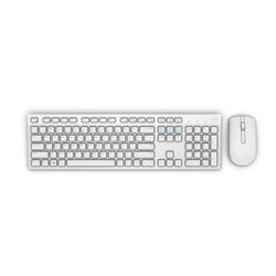 Dell Wireless Tastatur und Maus KM636 deutsch weiß (580-ADGL)