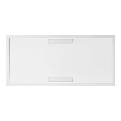 Villeroy & Boch Squaro Super Flat Rechteck Quaryl®-Duschwanne 160 x 90 cm… Grau (matt)