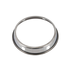Mahlzeit Grillablagetisch Mahlzeit Edelstahl Wok Ring, Ø 19,5 cm, Wokring für Woks mit rundem Boden