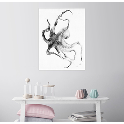 Posterlounge Wandbild, Octopus 60 cm x 80 cm