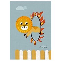 Postkarte Löwe (VE8)