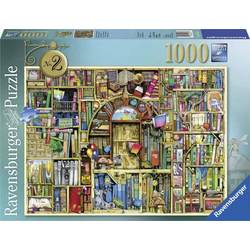 Ravensburger - Puzzle: Magisches Bücherregal Nr. 2, 1.000 Teile