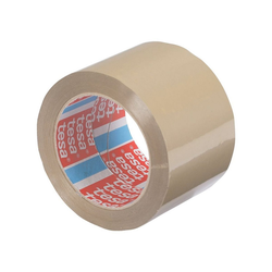 tesa Klebeband 4124 Packband, UV- und alterungsbeständig braun 7.5 cm x 6600 cm