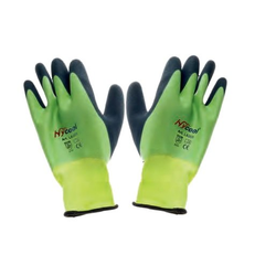 Hufa Fliesenleger Nylon Handschuhe grün L/9