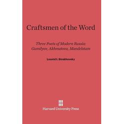 Craftsmen of the Word als Buch von Leonid I. Strakhovsky