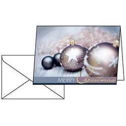 25 SIGEL Weihnachtskarten Exquisite DIN A6