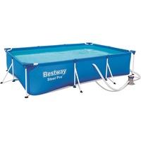BESTWAY Pool Steel Pro 300 x 201 x 66 cm inkl. Filterpumpe